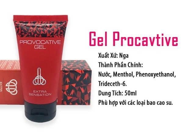 Provocative Gel cho nữ tăng ham muốn