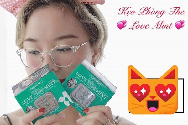 Kẹo phòng the love mint - kẹo ngậm Thái Lan rất mạnh