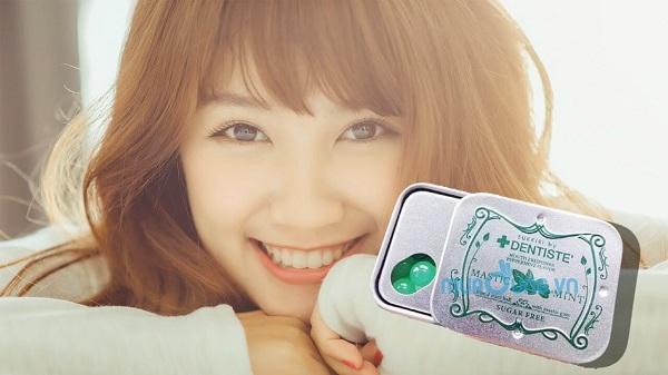 Kẹo LOVE MINT của Dentiste tạo ra sự bùng nổ và sự tươi mới