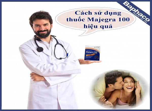 Majegra 100mg là một sản phẩm công dụng tăng cường sinh lý nam