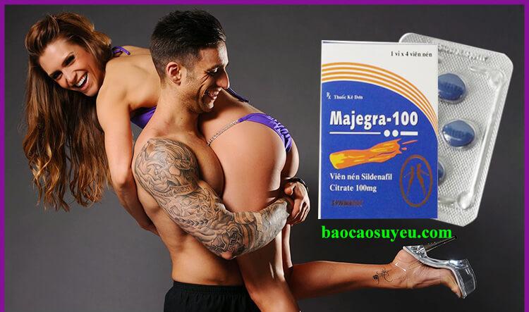 Thuốc hỗ trợ sinh lý Majegra 100